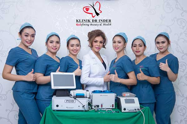 DR INDER AND TEAM WITH COLE INSTRUMENTS