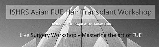 ishrs asian hair transplant workshop