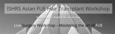 Dr. Cole Attends ISHRS Asian FUE Hair Transplant Workshop