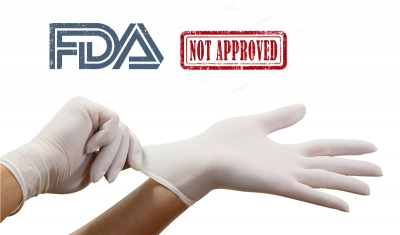 FDA Bans Powdered Medical Gloves