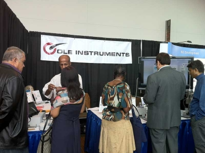 Cole Instruments attended the 2011 ISHRS meeting in Anchorage, Alaska
